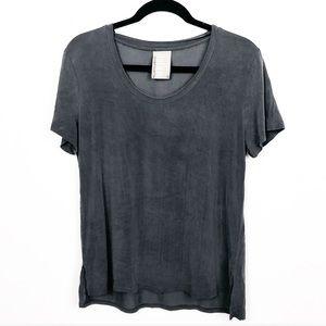 Dolan Left Coast | Small Burnout Gray T-Shirt